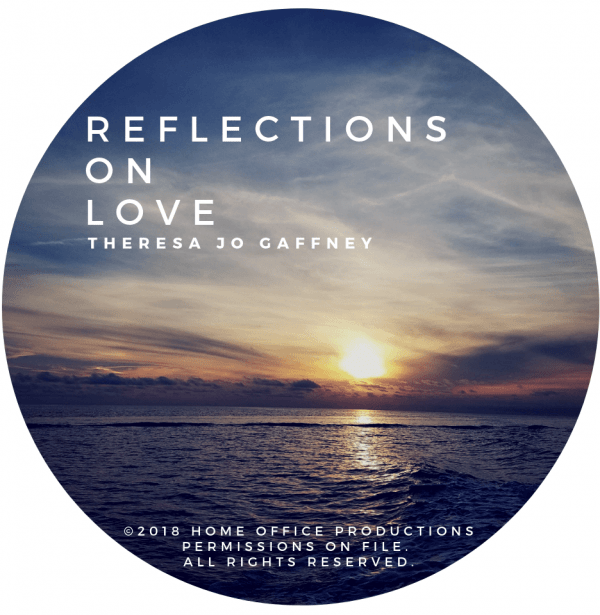 Reflections On Love - Disc Label